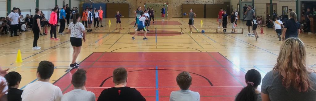 Völkerballturnier am 12.9.2019